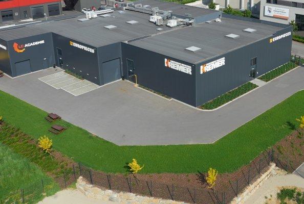Der Standort der Europieces Luxembourg S.A. in Sassenheim im Kanton Esch an der Alzette. Foto: CLARK Europe GmbH