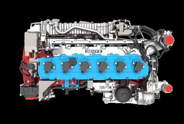 Der TCG 7.8 H2 ist der erste Wasserstoffmotor von DEUTZ.