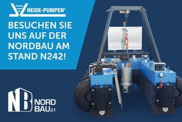 Heide-Pumpen auf der Nordbau 2021