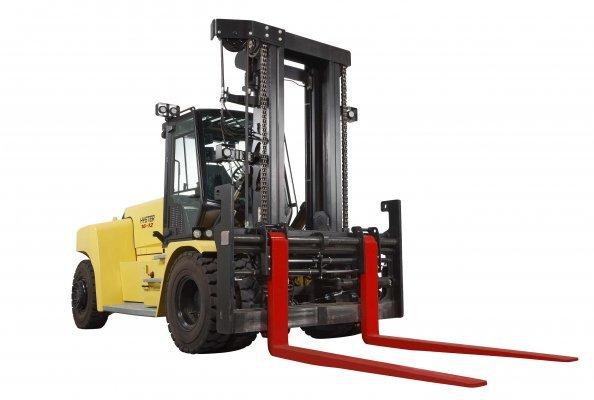 Hyster® Stapler mit Lithium-Ionen-Batterie mit Tragfähigkeiten von 10–18 tonnen