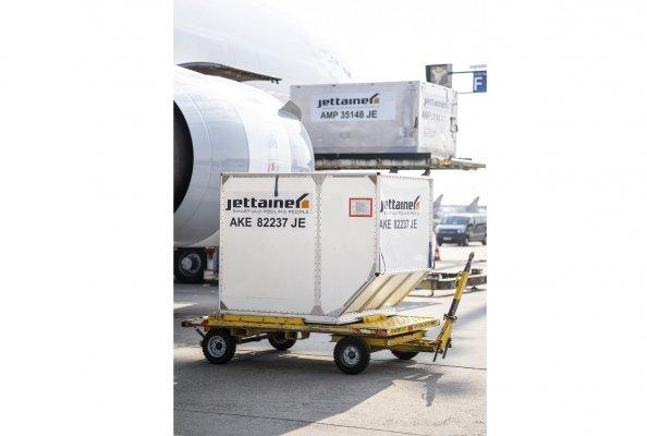 Jettainer startet mit plug&fly einen neuen ULD-Basis-Service speziell für kleine und mittelgroße Airlines