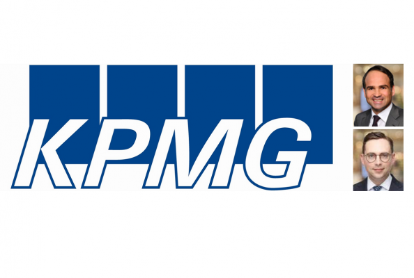 KPMG: Bernd Oppold, Partner KPMG und Maximilian Eberle, Manager KPMG