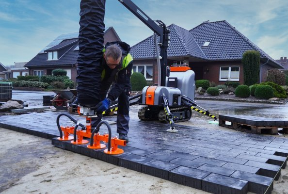 Die neuen Ansaugplatten von Optimas sind bestens für kleinere Baustellen geeignet. Es gibt sie in vielen Varianten.