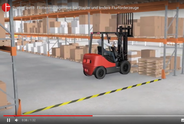 PowerFleet®: Fleet Management for forklifts and material handling equipment