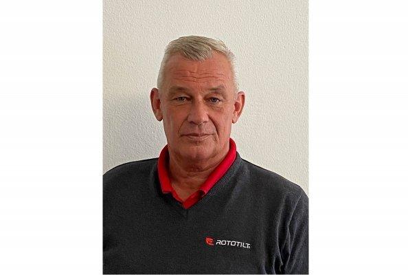 Carsten Schäfer (57) verantwortet die Vertriebsregion Deutschland Südwest bei Rototilt.