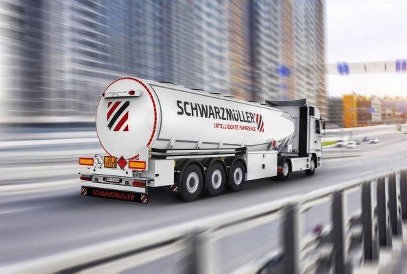 Mit 150 Nischenfahrzeugen wie den Tanks ist Schwarzmüller der vielfältigste Hersteller Europas.