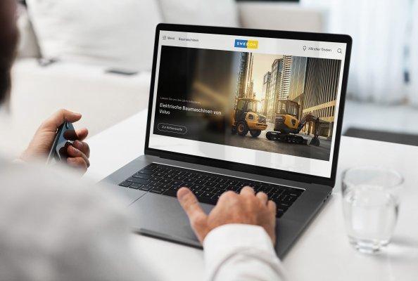 Swecon Baumaschinen GmbH - neue Gruppenwebseite