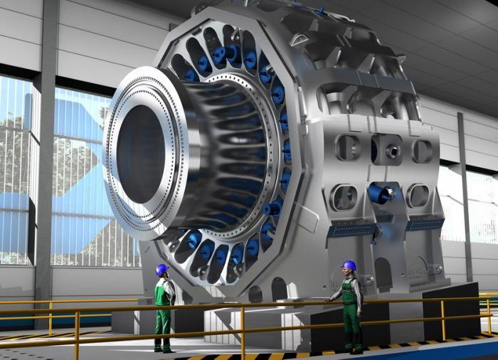 """Der gigantische Prüfstand mit Schwerpunkt """"Windenergie"""" wird der weltweit erste sein, der nicht nur ein einzelnes Hauptlager für Windturbinen, sondern quasi die komplette Original-Konstruktion inklusive entsprechender Bauteile des Kunden testen kann."""