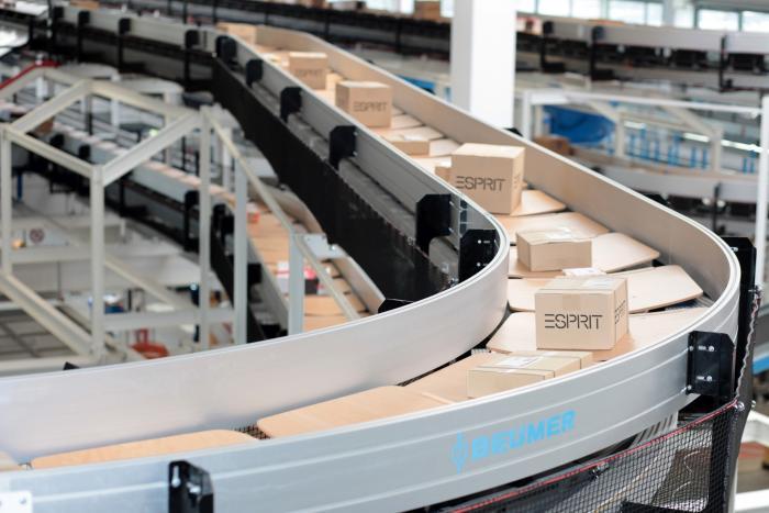 Die Sortieranlagen handhaben unterschiedliche Produkte schnell und schonend.