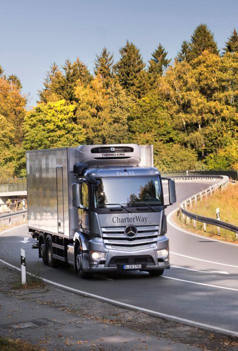 Ab 2016 auch Wartung und Reparatur an Thermo King-Kühlaggregaten in Zusammenarbeit mit autorisierten Thermo King-Händlern in TruckWorks-Betrieben möglich.