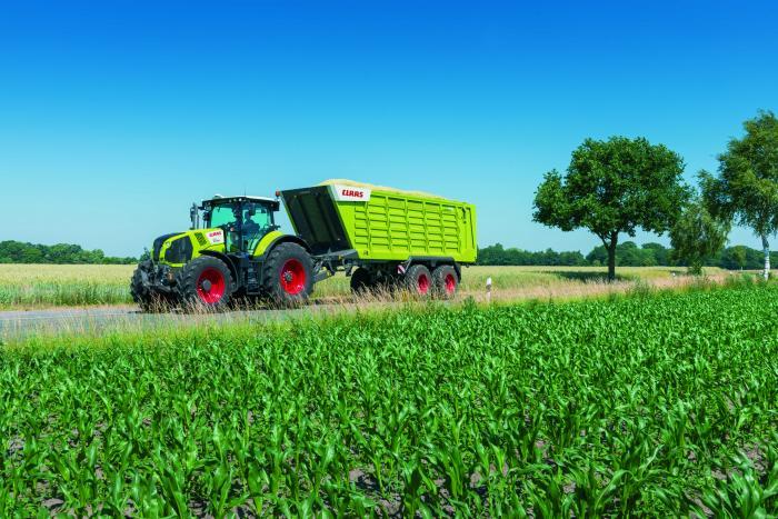 CLAAS präsentiert ersten Häckseltransportwagen