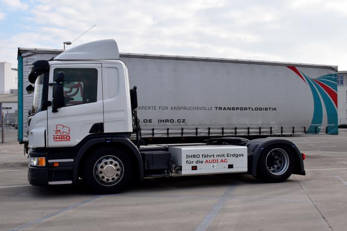 Scania, Ihro und Audi Neckarsulm starten gemeinsames CNG-Pilotprojekt