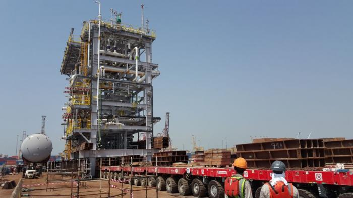 ALE performs load-outs for one of the world's largest oil fields