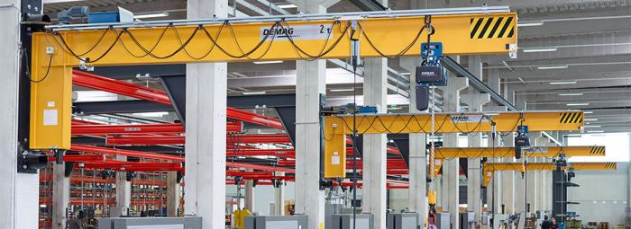 Flexibility from the modular (crane) construction kit