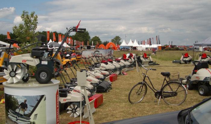 Messe: demopark + demogolf 2015 in Eisenach