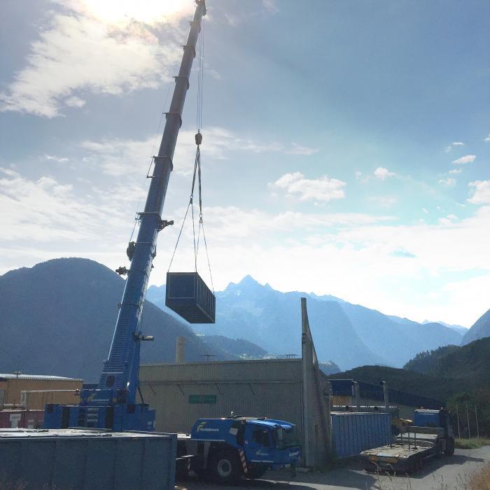 Drei neue Grove GMK5250L für Felbermayr in Österreich