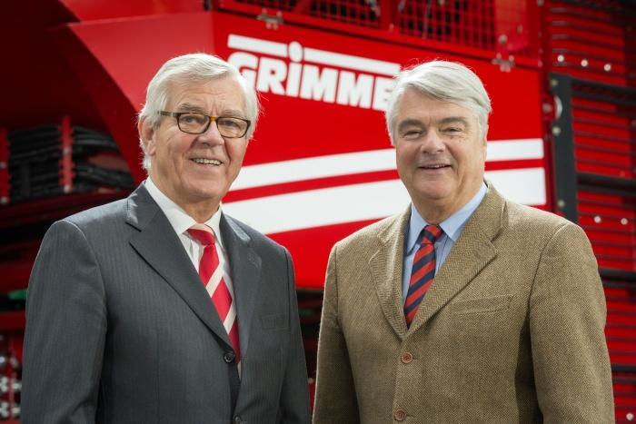 Franz Grimme und Philipp von dem Bussche