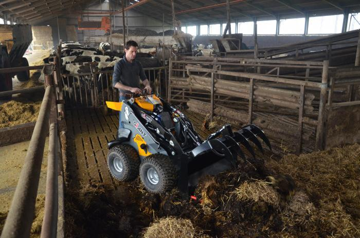 Giant Skidsteer Lader völlig in Produktion