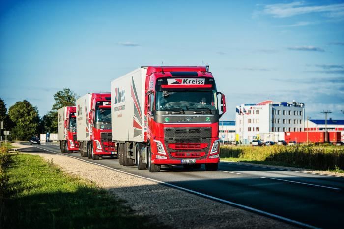 Im Rahmen eines Goodyear FleetFirst-Vertrags setzt der zu den führenden internationalen Logistikunternehmen zählende Anbieter Kreiss aus Lettland für den Großteil seiner Flotte auf die hochwertigen Lkw-Reifen von Goodyear und Dunlop sowie auf verschiedene Service-Programme.