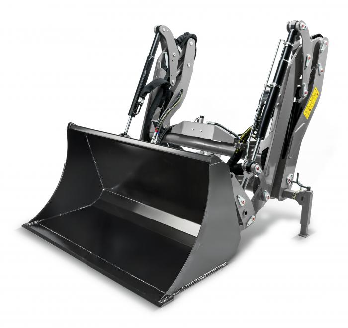 Kärcher entwickelt erstmals einen Frontlader für kommunale Geräteträger bis 3,5 t, der in dieser Klasse bislang einzigartig ist.