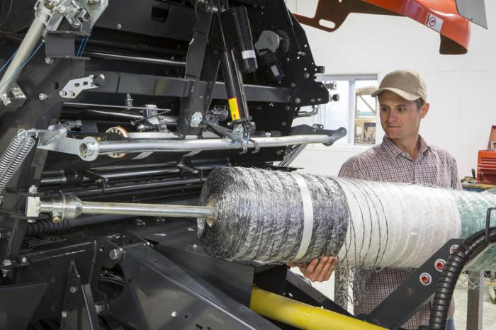 Eine geringe Ladehöhe ist als ein wichtiger Punkt bei dem neuen PowerBind System beibehalten worden.