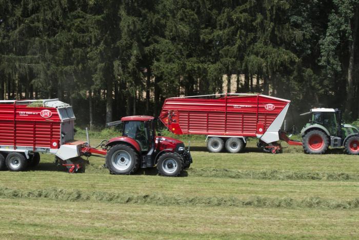 Lely stellt zwei neue Lely Tigo Ladewagen-Baureihen vor