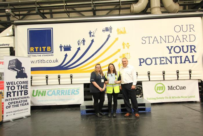 Two more top forklift drivers reach RTITB Operator of the Year Grand Finals