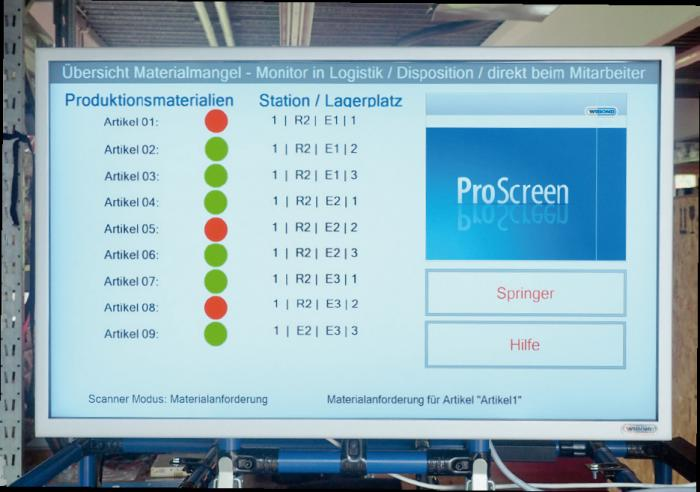 Innovatives Pick-to-Light-System mit modularen Ausbaustufen