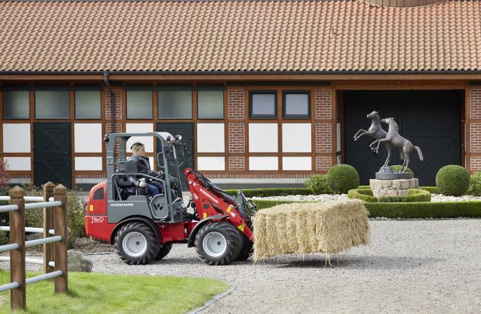 Der 1160 eHoftrac® von Weidemann wird weiter entwickelt.