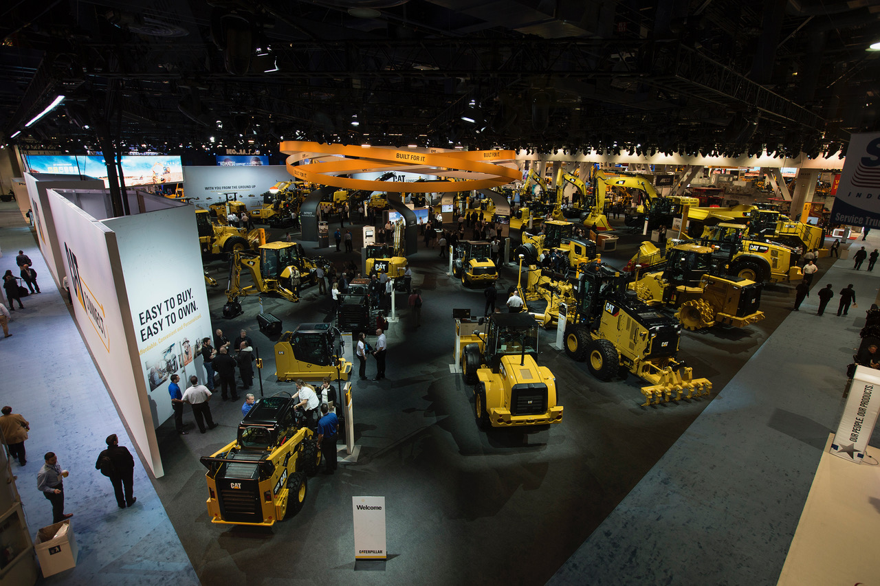 Caterpillar_conexpo_north_hall