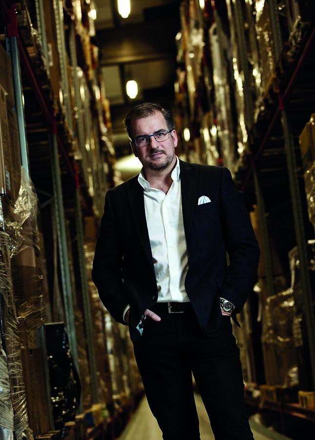 Daniel Johansson CEO Exertis CapTech
