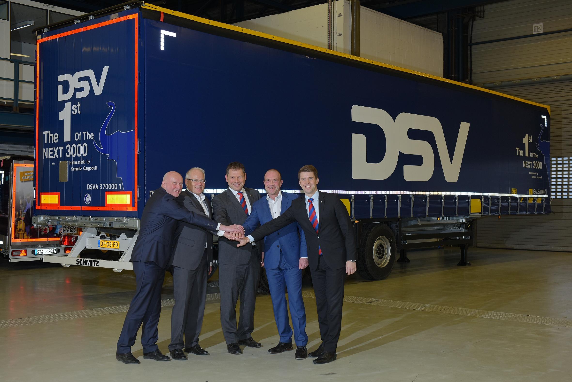 Schmitz Cargobull schließt erneut Großauftrag für Trailer bei DSV ab