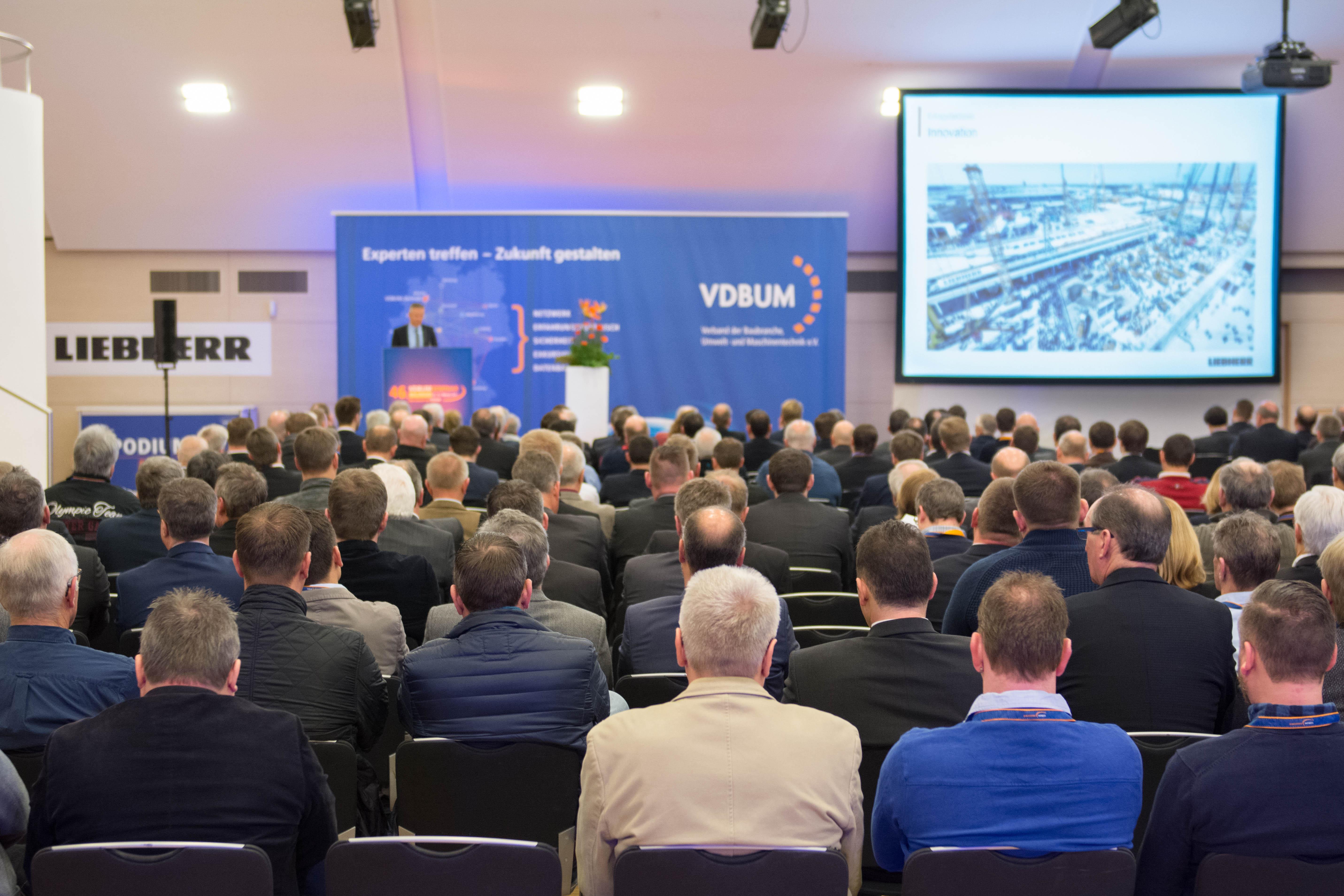 Mehr Teilnehmer als jemals zuvor: Beim 46. VDBUM-Großseminar waren die Fachvorträge und Workshops stark frequentiert.