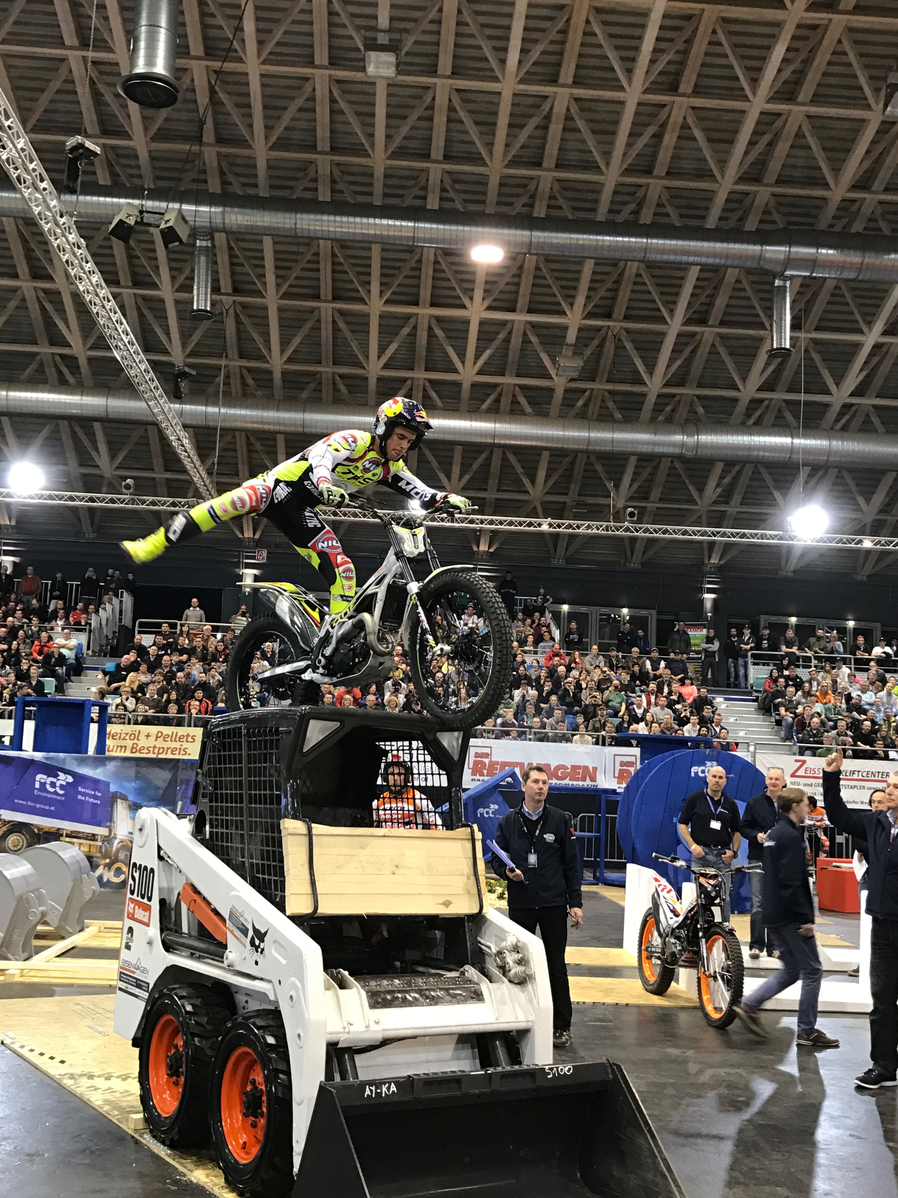 Bobcat at trial World Championship
