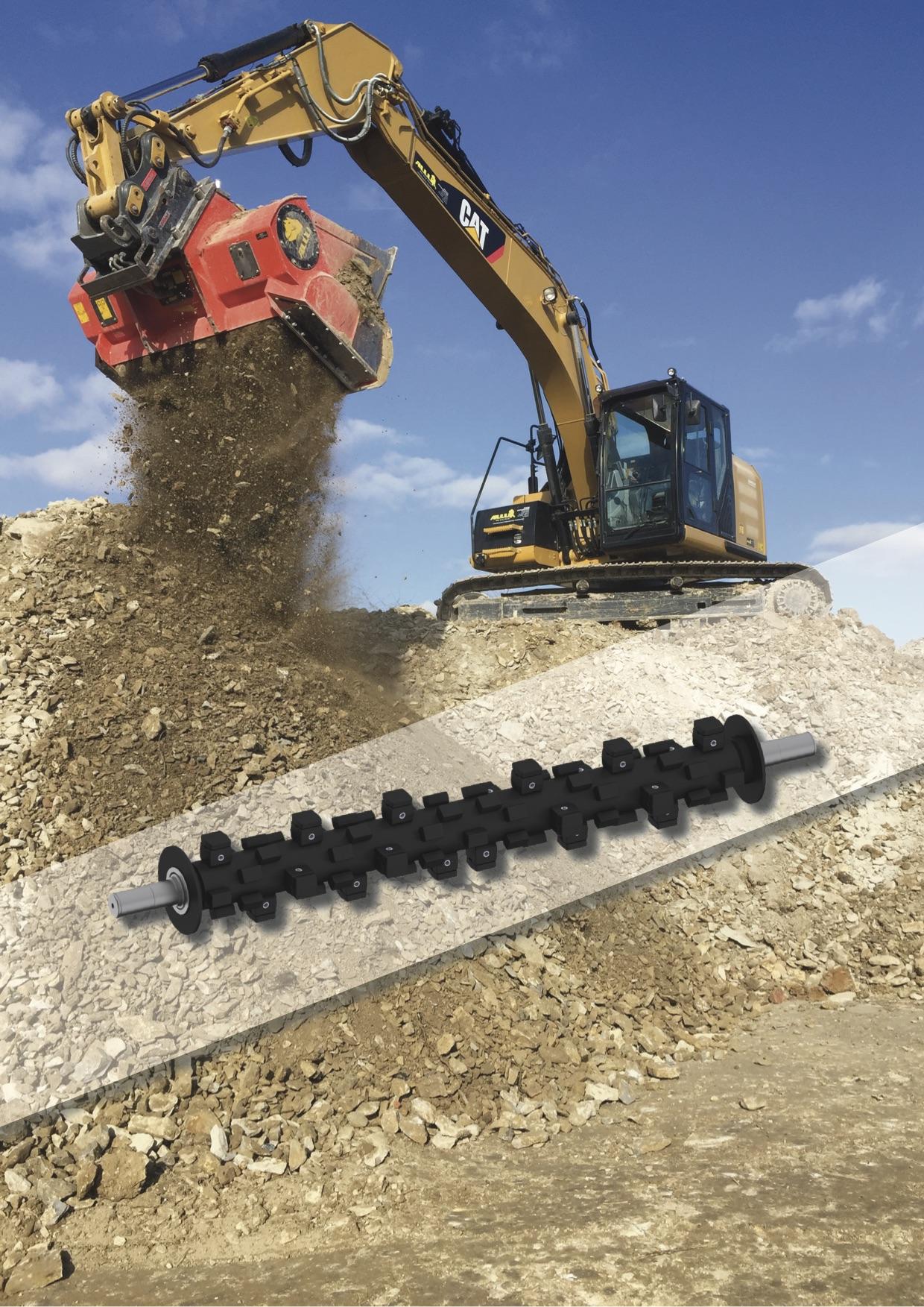 Die Separatoren von Allu eigenen nicht nur den Tief-, Erd- und Straßenbau sondern ebenso für den Einsatz im Recycling.