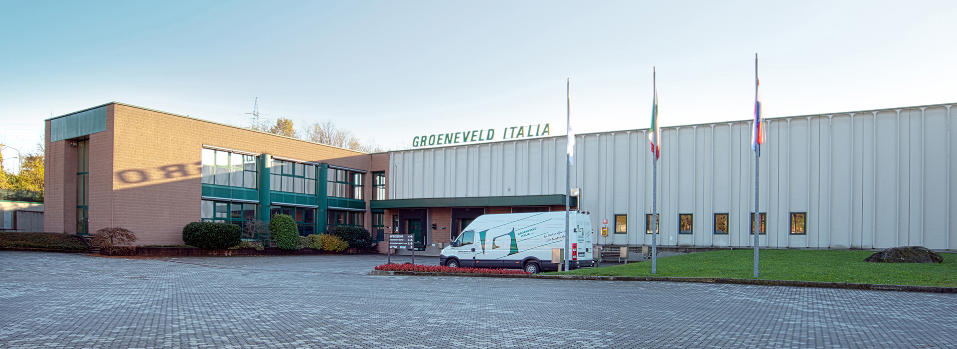 Groeneveld Group main assembly plant in Cassago Brianza, near Lake Como.