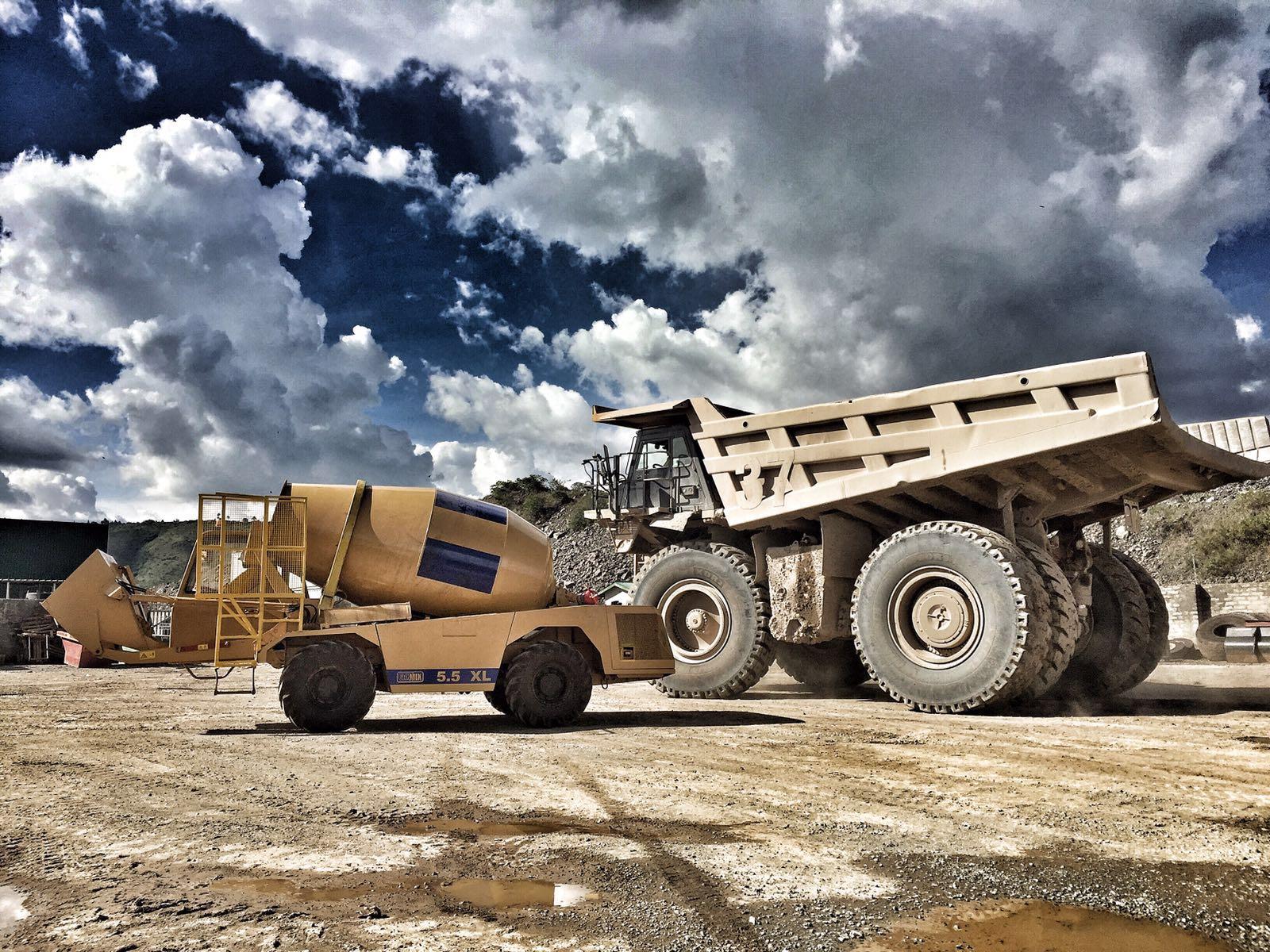 Versatile Carmix takes concrete to North Mara Gold Mine in Tanzania