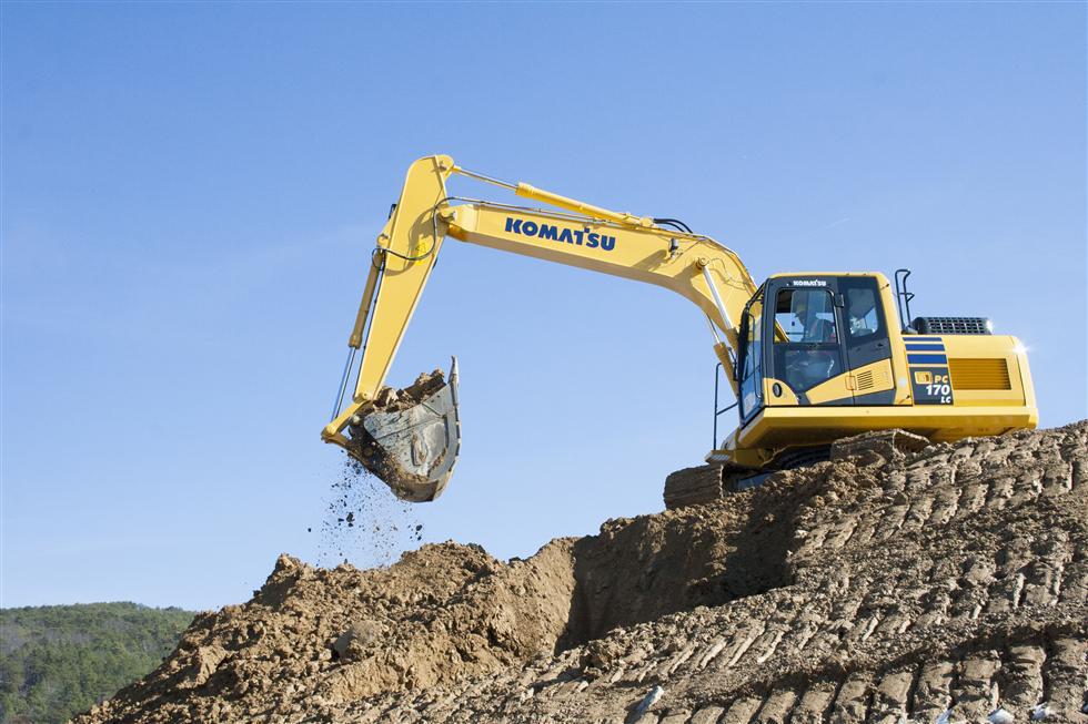 Komatsu PC170LC-11 hydraulic excavator