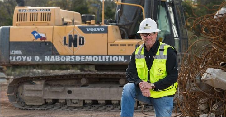 Lloyd Nabors – a lifetime in demolition.