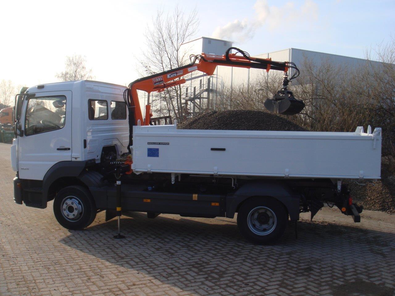 Für einen Kunden im Rheinland wurde der Tirre Euro 35 im Herstellerwerk generalüberholt.