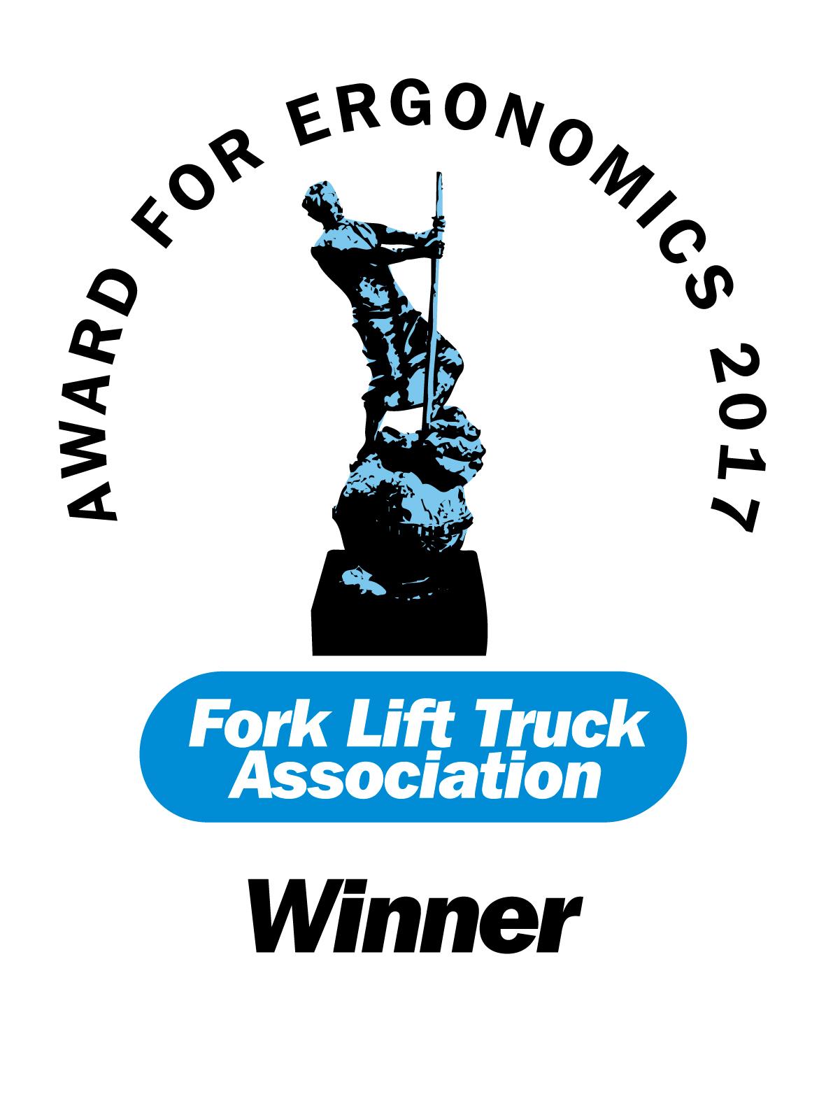 """Der Yale Elektro-Stand-/Quersitz-Gabelhubwagen der MPT-Serie erhielt von der Fork Lift Truck Association (FLTA) Awards erstmals in der Kategorie """"Ergonomisches Design"""" die begehrte Trophäe"""