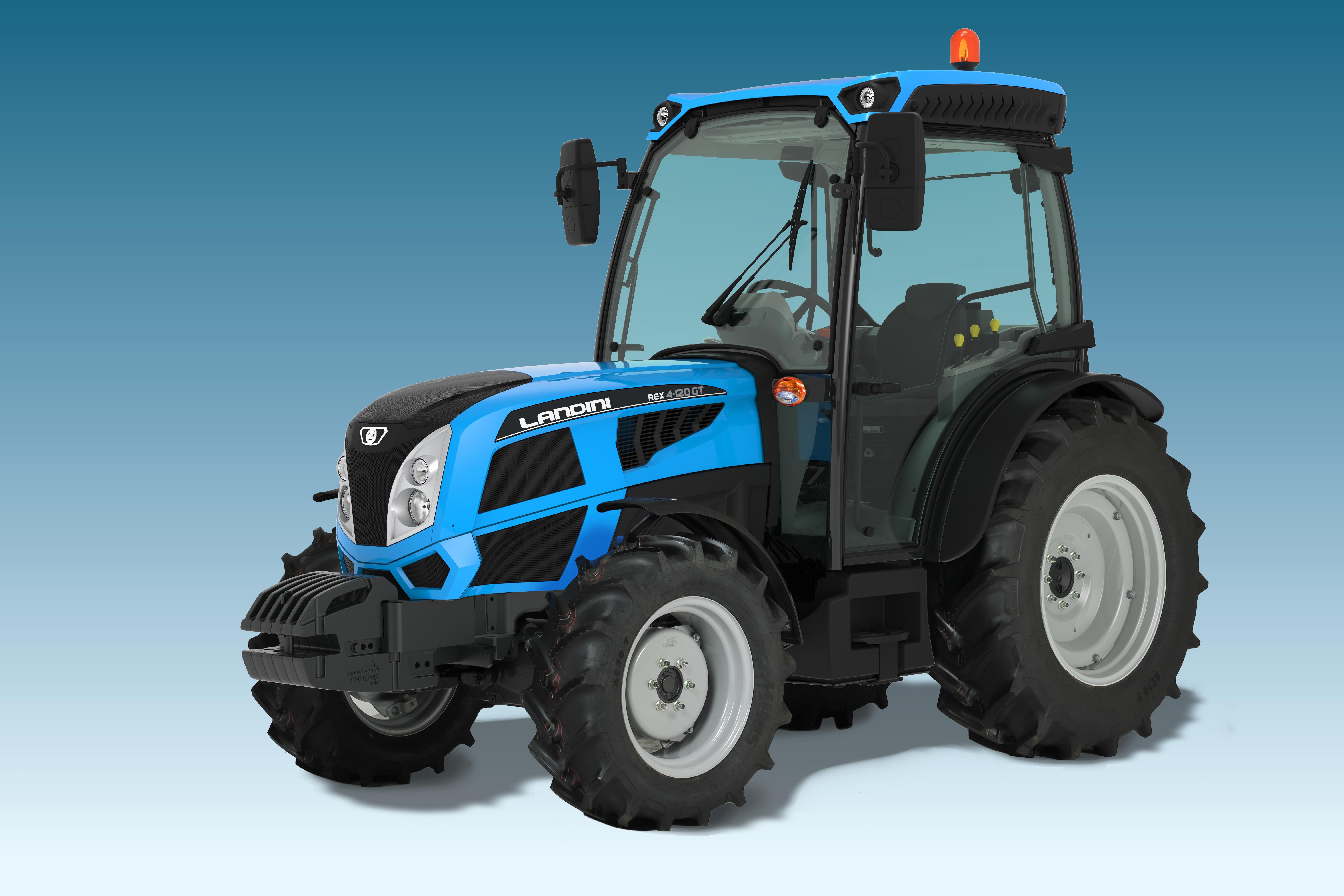 Landini REX 4 GT, Argo Tractors Spa