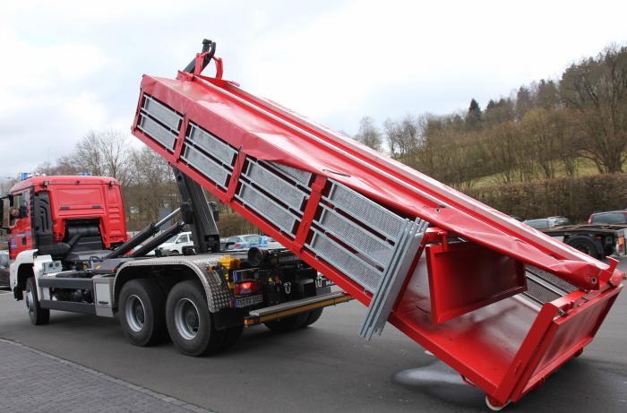 Sandsack-Container GREIS