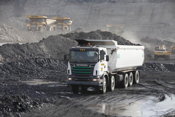 Scania Baustellenfahrzeuge auf der BAUMA2016