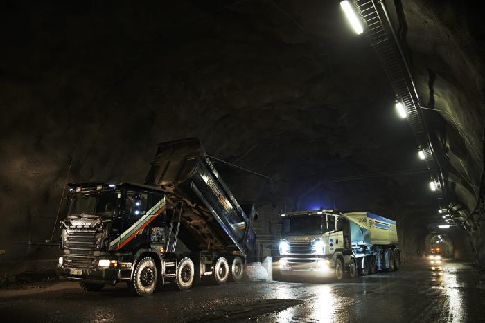 Leicht, robust, wirtschaftlich – Scania ist auf der BAUMA richtungsweisend