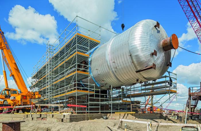 Das flexible und sichere Modulgerüst PERIUP beweist sich mehr und mehr auch in Industrieanwendungen. Der aktuell größte PERI Auftrag läuft bei einer Ölsandraffinerie in Kanada. Auch im Anlagenbau nutzen die Kunden die ergänzenden PERI Dienstleistungen der Projekt-planung und -steuerung.