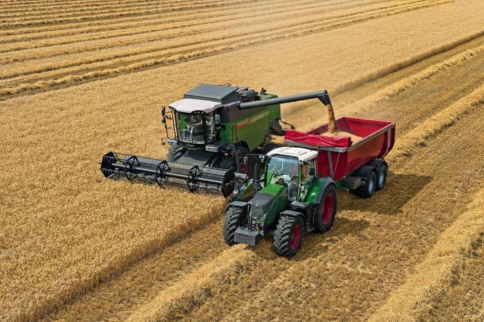 Agco fendt entwickelt m hdrescher der e serie weiter - Jeu de tracteur agricole gratuit ...