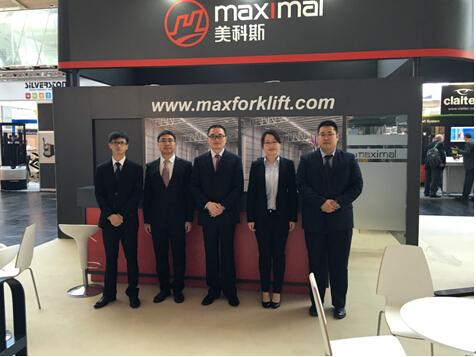 Maximal attended CeMAT Hannover 2016