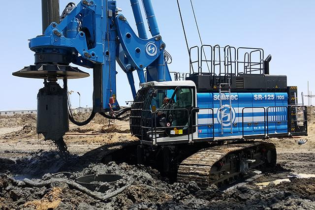 SR-125 HIT works for Port Said expansion
