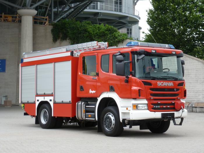 4x4 Water and Rescue Vehicle P310